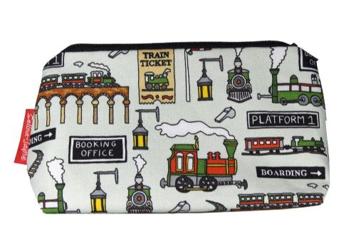 Selina-Jayne Steam Trains Limited Edition Designer Cosmetic Bag